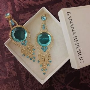 Banana Republic Chandelier Earrings